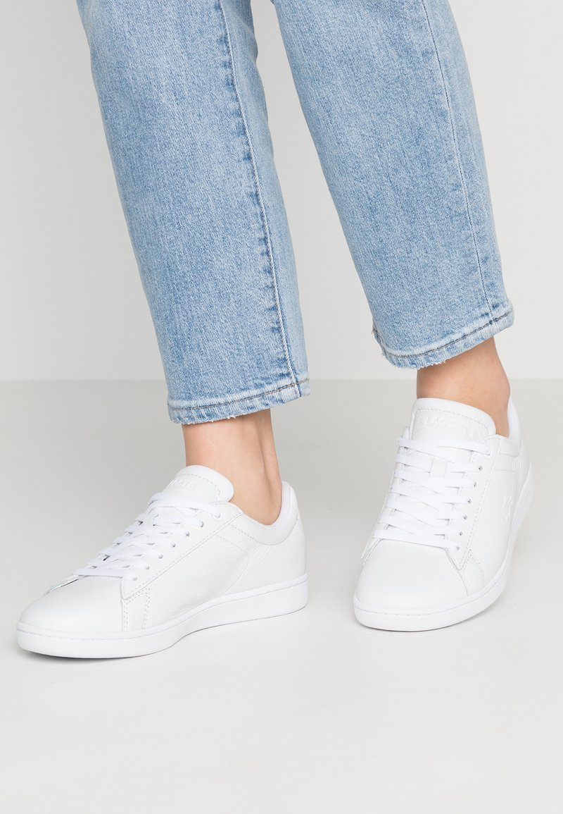 Lacoste - CARNABY EVO - Sneakers basse - white