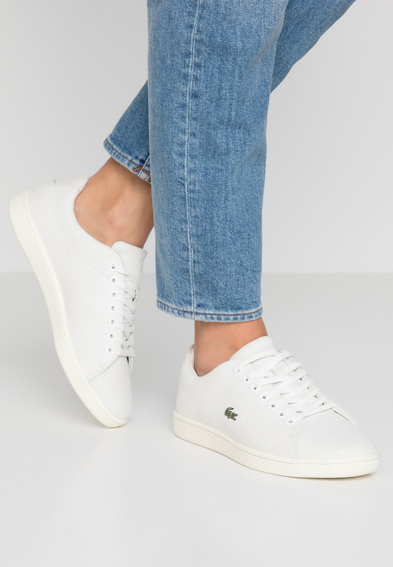 Lacoste - CARNABY EVO  - Sneaker low - offwhite