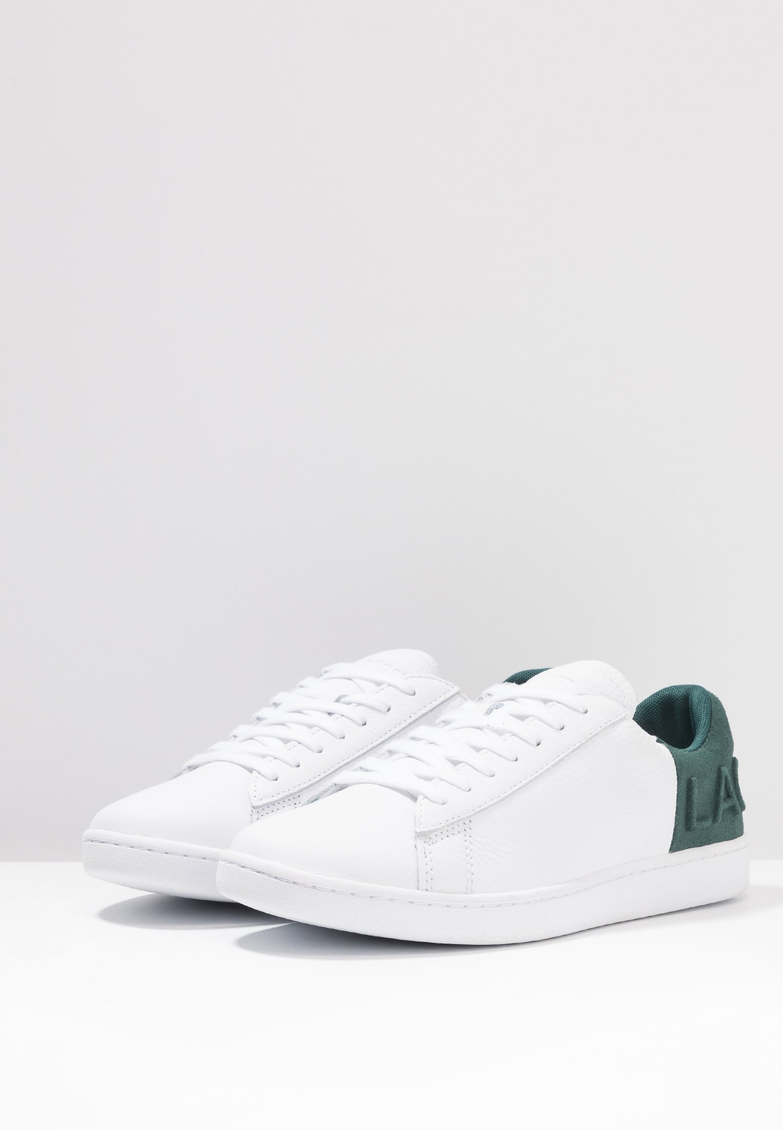 CarnabyBaskets White dark Green Basses Lacoste Pn0kO8w