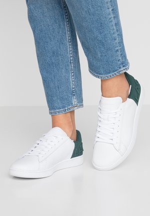 CARNABY  - Sneakers laag - white/dark green