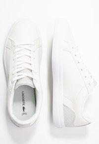 Lacoste - LEROND  - Sneaker low - offwhite/white - 3
