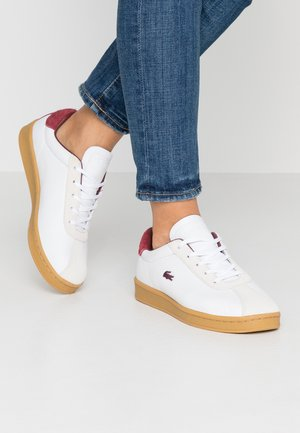 MASTERS  - Trainers - white/dark red