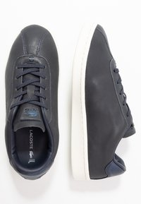 Lacoste - MASTERS - Sneaker low - navy/offwhite - 3