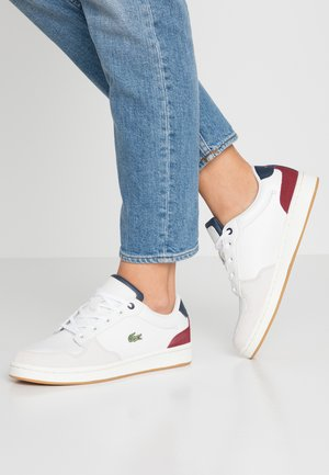 MASTERS CUP - Sneaker low - offwhite/navy/dark red