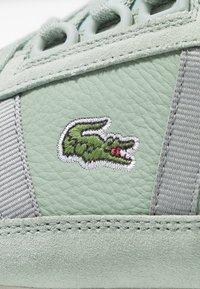 Lacoste - PARTNER RETRO - Sneaker low - light green/offwhite - 2