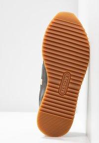 Lacoste - PARTNER RETRO - Sneaker low - dark grey/offwhite - 6