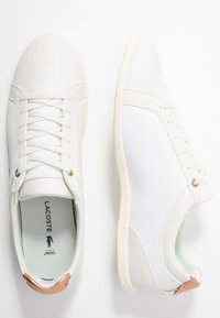 Lacoste - REY LACE - Joggesko - offwhite/copper - 3
