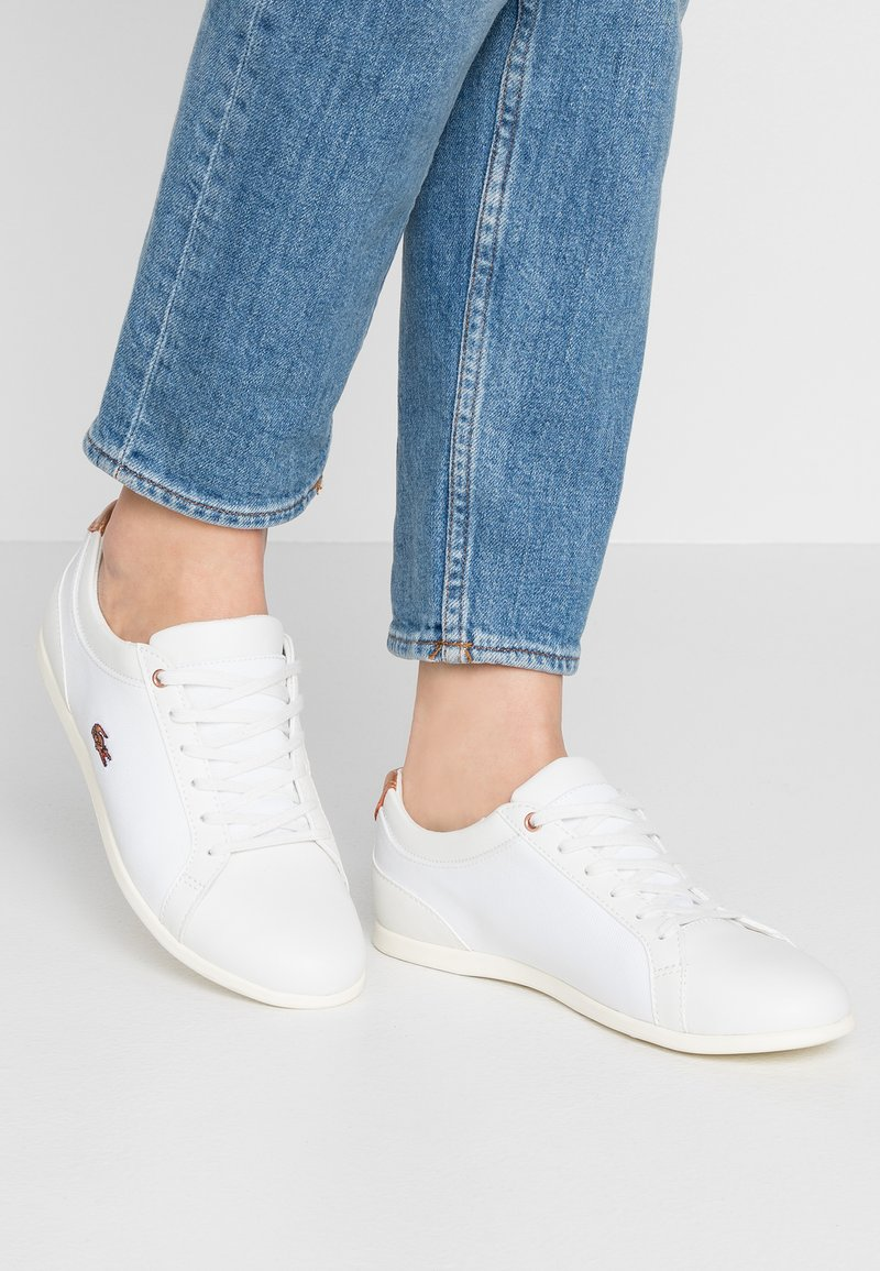 Lacoste - REY LACE - Sneakers - offwhite/copper