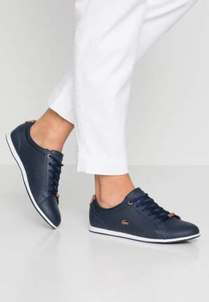 REY LACE - Sneakers basse - navy/white