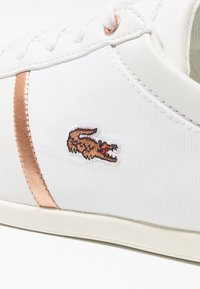 Lacoste - REY SPORT  - Trainers - offwhite/copper metallic - 2