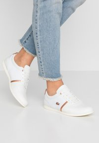 Lacoste - REY SPORT  - Trainers - offwhite/copper metallic - 0
