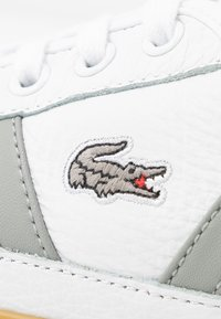 Lacoste - SIDELINE - Trainers - white/grey - 2