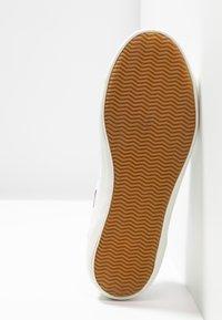 Lacoste - SIDELINE - Baskets basses - white/dark red/navy - 6