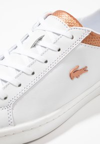 Lacoste - STRAIGHTSET  - Sneakers basse - white/copper - 2