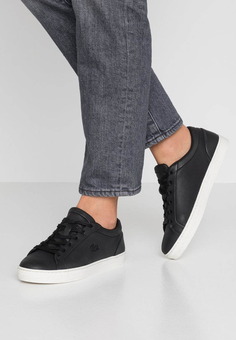 Lacoste - STRAIGHTSET  - Sneakers - black/offwhite