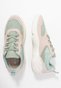 Lacoste - WILDCARD  - Sneaker low - light green/offwhite - 3