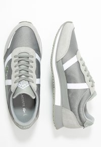 Lacoste - PARTNER  - Sneaker low - grey/white - 3