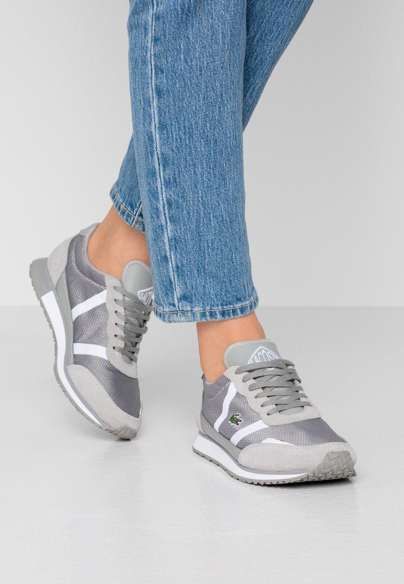 Lacoste - PARTNER  - Zapatillas - grey/white