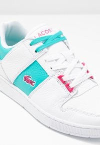 Lacoste - THRILL - Trainers - white/green - 7
