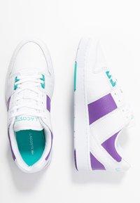 Lacoste - THRILL - Trainers - white/purple - 3