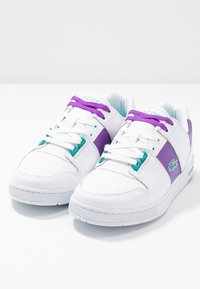 Lacoste - THRILL - Trainers - white/purple - 7