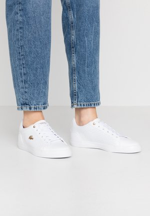 LEROND 120 - Sneaker low - white/gold