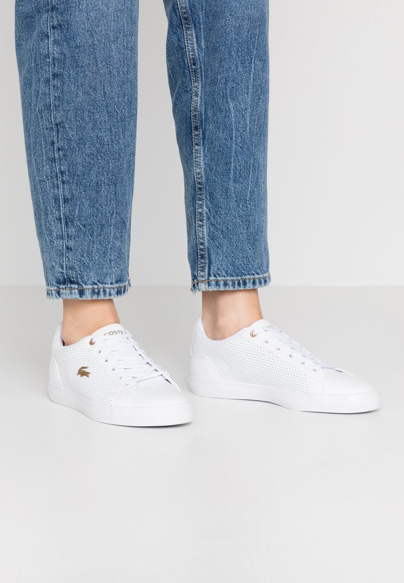 Lacoste - LEROND 120 - Baskets basses - white/gold