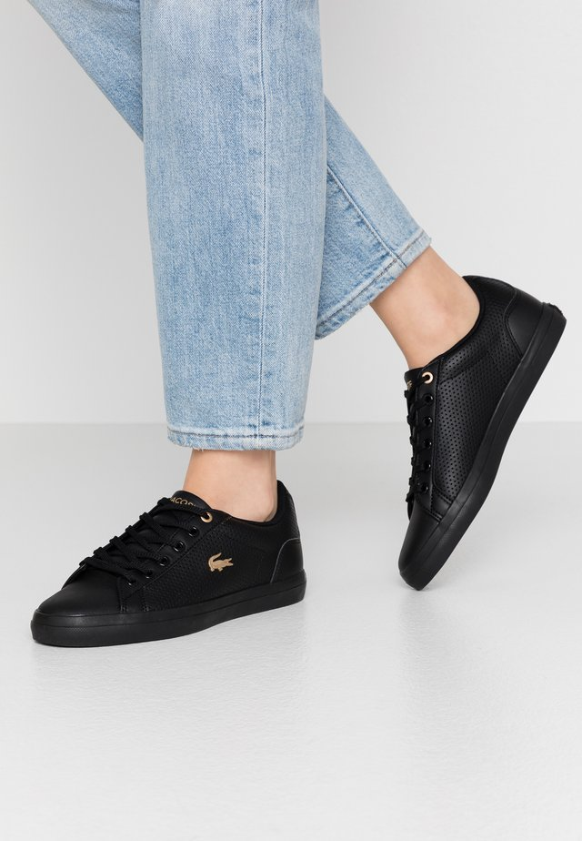 LEROND 120 - Sneakers - black/gold