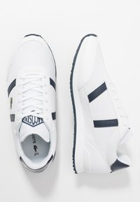 Lacoste - PARTNER  - Tenisky - white/navy - 3