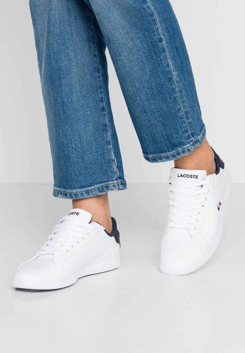 Lacoste - GRADUATE  - Sneakers - white/navy/red