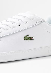 Lacoste - GRADUATE  - Trainers - white/silver - 2