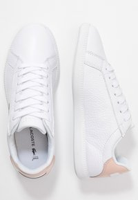 Lacoste - GRADUATE  - Sneakers basse - white/natural - 3