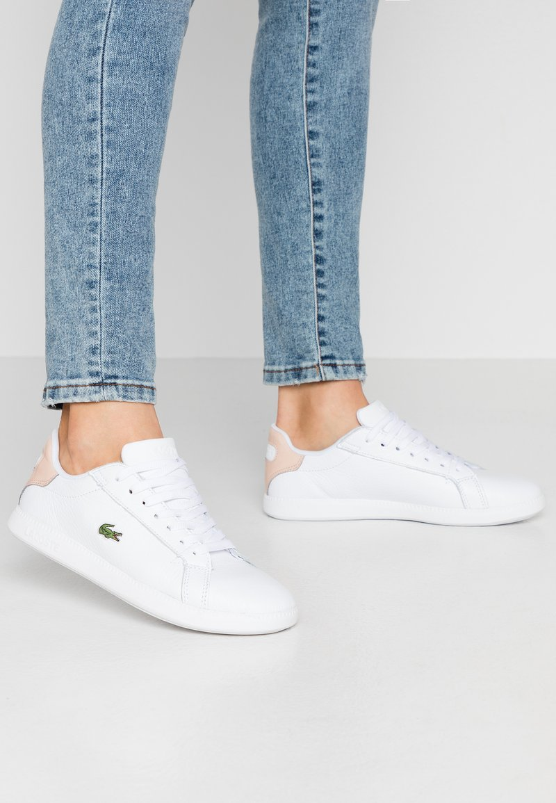 Lacoste - GRADUATE  - Sneakers basse - white/natural