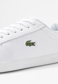 Lacoste - GRADUATE  - Sneaker low - white/black - 2