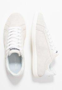 Lacoste - GRADUATE - Matalavartiset tennarit - white/offwhite - 3