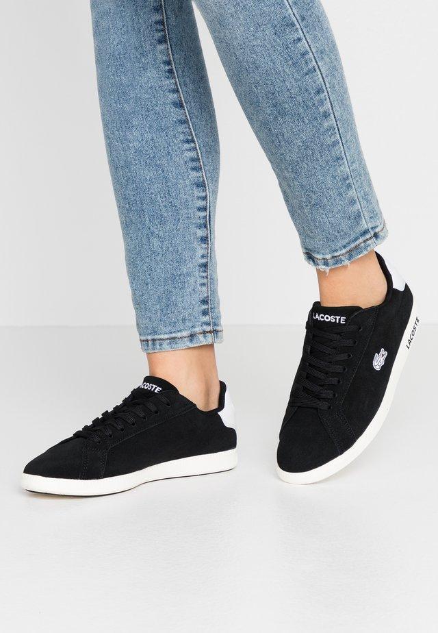 GRADUATE - Sneaker low - black/offwhite