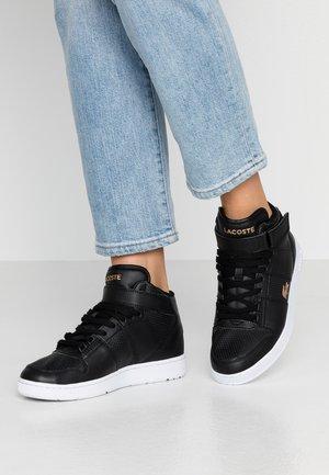 TRAMLINE MID - Höga sneakers - black