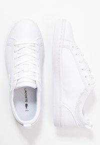 Lacoste - STRAIGHTSET  - Sneakers basse - white - 3