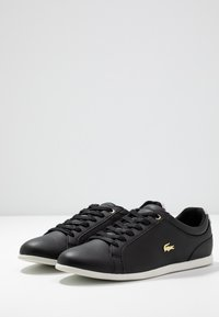 Lacoste - REY LACE - Trainers - black/offwhite - 4