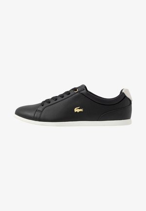 REY LACE - Sneakers laag - black/offwhite