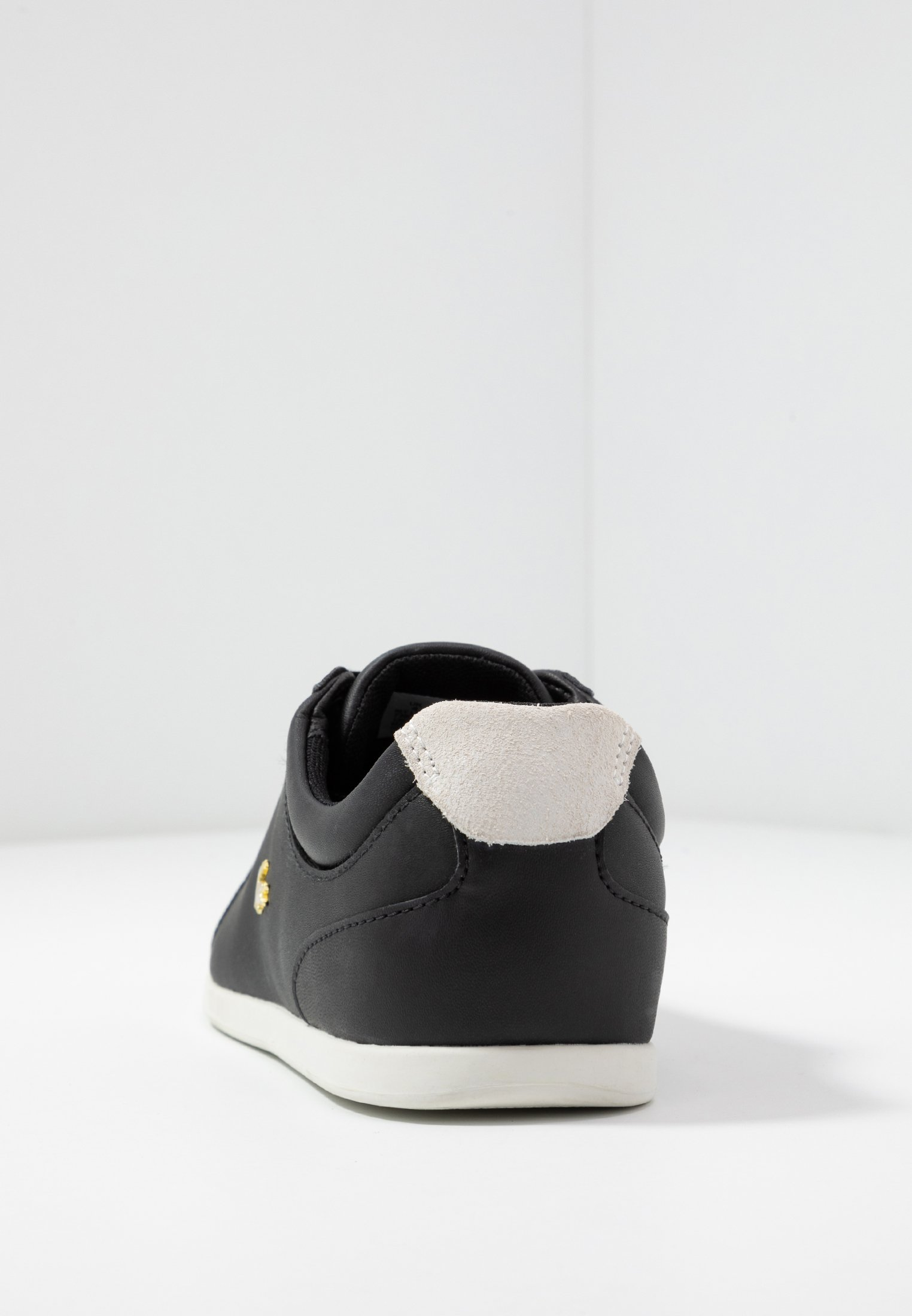 Lacoste REY LACE - Sneakersy niskie - black/offwhite