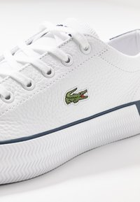 Lacoste - GRIPSHOT 120 - Baskets basses - white/navy - 2