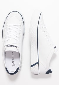 Lacoste - GRIPSHOT 120 - Baskets basses - white/navy - 3