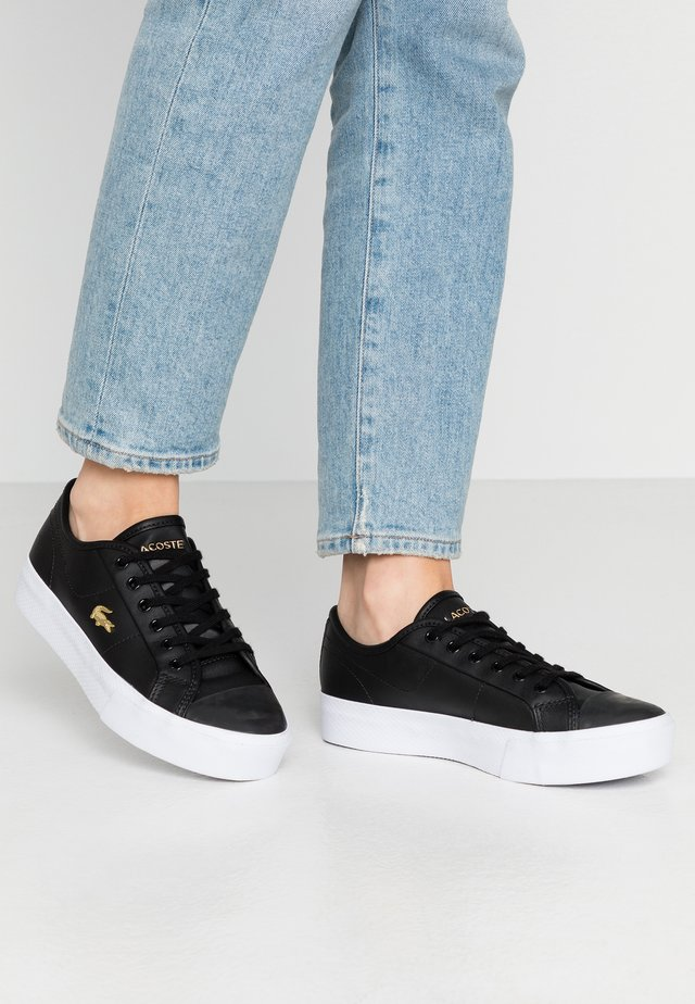 ZIANE PLUS GRAND - Sneakers - black/white