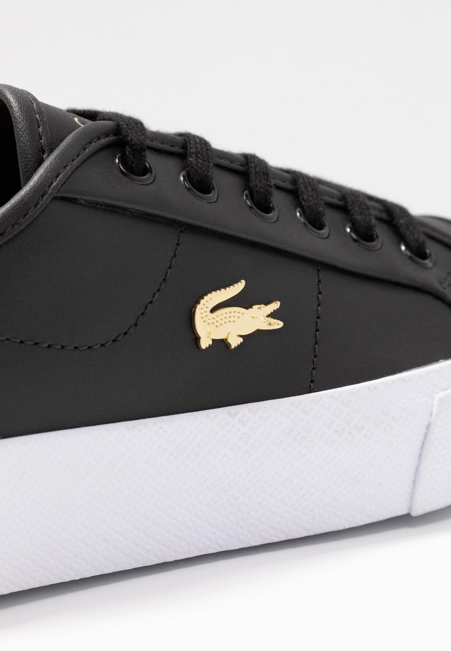 Lacoste ZIANE PLUS GRAND - Sneakers - black/white