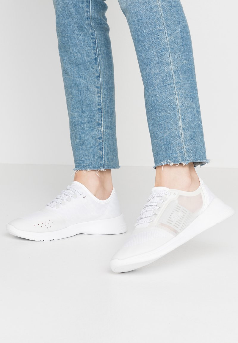 Lacoste - FIT - Trainers - white/light grey