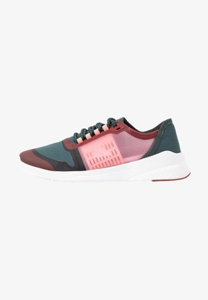 FIT - Sneakers laag - dark green/dark red