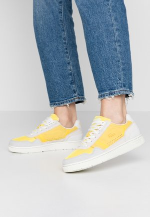 Baskets basses - offwhite/yellow