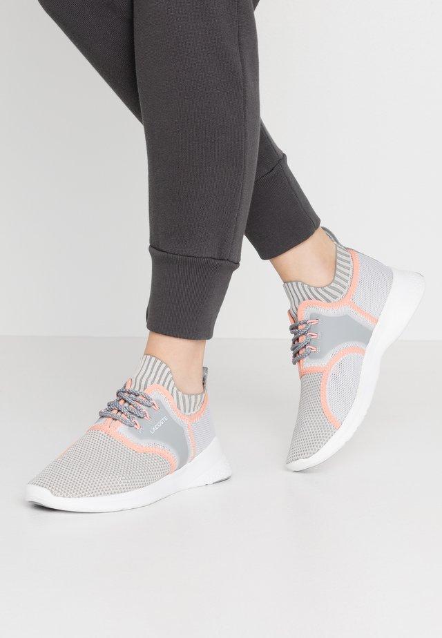 SENSE - Sneakers laag - grey/light pink