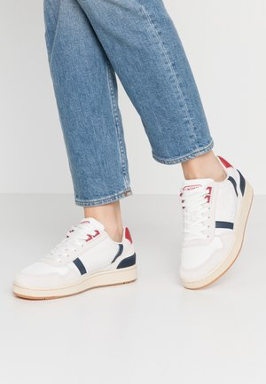 T-CLIP - Trainers - white/navy/red